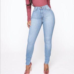 Fashion Nova Classic High Waist Skinny Jeans